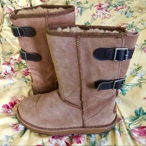 EMU Darlington Sheepskin Buckle Boots